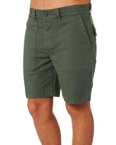 DARK OLIVE MENS CLOTHING RIP CURL SHORTS - CWABR99389