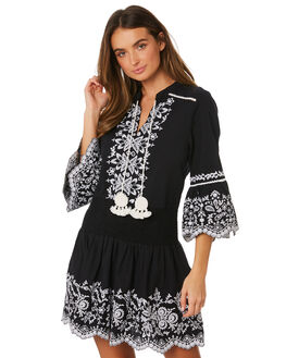 CHARCOAL WOMENS CLOTHING TIGERLILY DRESSES - T391403CHR