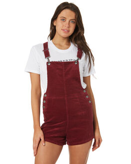 BERRY WOMENS CLOTHING AFENDS PLAYSUITS + OVERALLS - 51-02-084BER