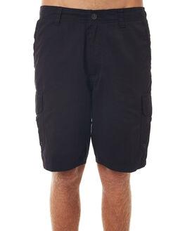 BLACK MENS CLOTHING QUIKSILVER SHORTS - AQMWS03043KVJ0