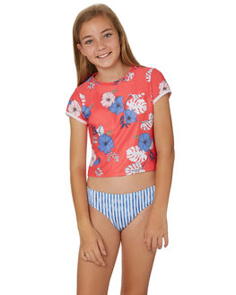 HIBISCUS RED KIDS GIRLS SEAFOLLY SWIMWEAR - 27077HIBI