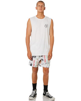 OFF WHITE MENS CLOTHING INSIGHT SINGLETS - 1000062237OFWHT