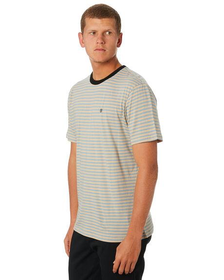 PARCHMENT MENS CLOTHING BRIXTON TEES - 02624PARCH