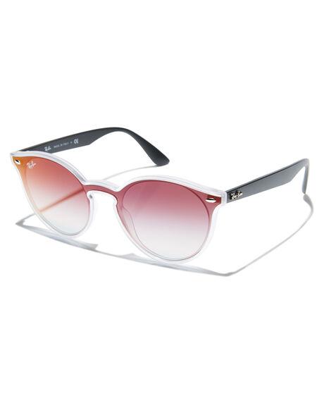 099227662c Ray-Ban Blaze Round Sunglasses - Matte Transparent