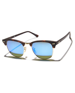 SAND GREY BLUE MENS ACCESSORIES RAY-BAN SUNGLASSES - 0RB301651SGB