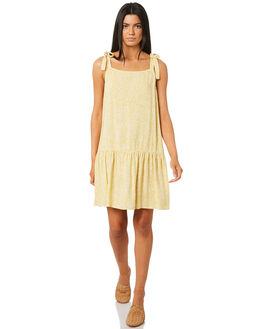 HONEY WOMENS CLOTHING RUSTY DRESSES - DRL0944HON