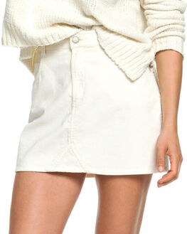 MARSHMALLOW WOMENS CLOTHING ROXY SKIRTS - ERJWK03055-WBT0