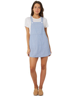 BLUE WOMENS CLOTHING RHYTHM PLAYSUITS + OVERALLS - JUL18W-DR04-BLU