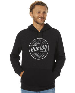 BLACK MENS CLOTHING HURLEY JUMPERS - AMFLSCPR