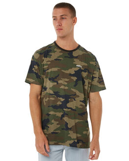 CAMO MENS CLOTHING STUSSY TEES - ST085010CAMO