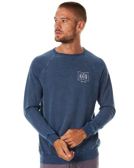 NAVY MENS CLOTHING KATIN JUMPERS - FLGRUH16NVY