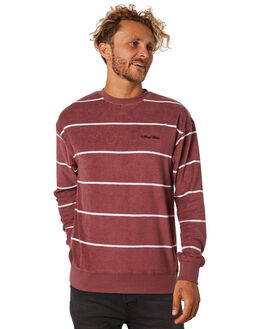 SANGRIA MENS CLOTHING THE CRITICAL SLIDE SOCIETY JUMPERS - FC1846SANGR