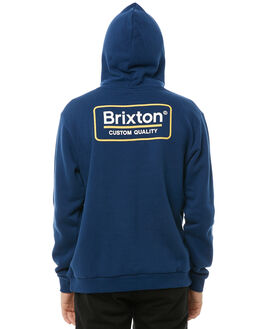 DEEP BLUE MENS CLOTHING BRIXTON JUMPERS - 02464DPBLU