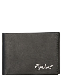BLACK MENS ACCESSORIES RIP CURL WALLETS - BWLMQ10090
