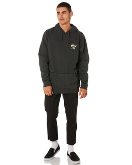 DIRTY BLACK MENS CLOTHING BANKS JUMPERS - WFL0178DBL