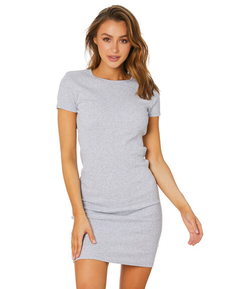 GREY MARLE WOMENS CLOTHING SILENT THEORY DRESSES - 6063036GRM