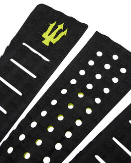 ALL BLACK LIME BOARDSPORTS SURF FK SURF TAILPADS - 1204BBKLIM