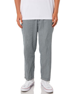 STRIPE MENS CLOTHING STUSSY PANTS - ST095601STRP
