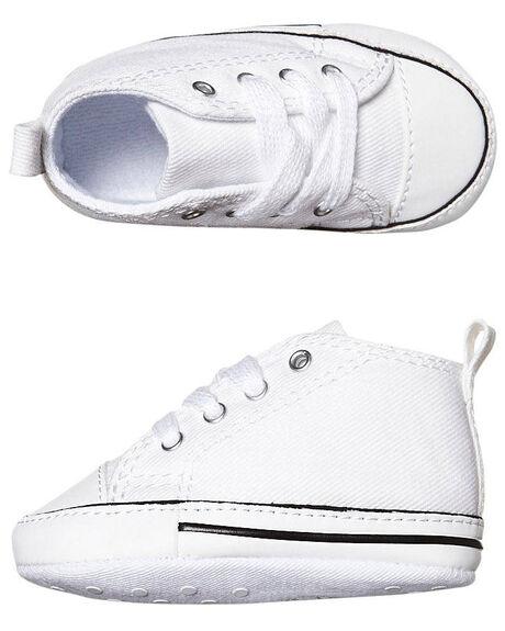 WHITE KIDS BABY CONVERSE FOOTWEAR - 88877WHI