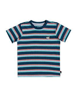 MAJOLICA BLUE KIDS BOYS QUIKSILVER TOPS - EQKKT03189-BSM3