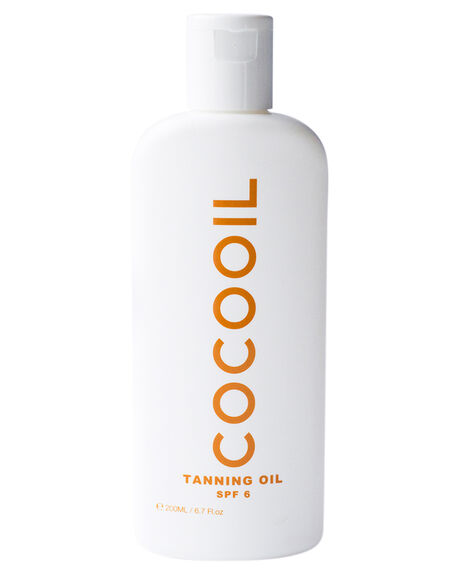 NATURAL HOME + BODY BODY COCOOIL SKINCARE - COCOTANSPF6NAT