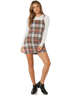 RED COMBO WOMENS CLOTHING FREE PEOPLE DRESSES - OB9200836004