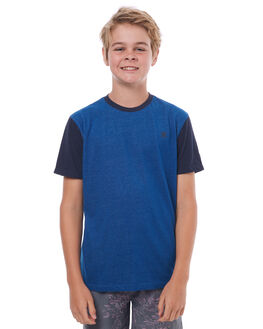 GYM BLUE KIDS BOYS HURLEY TEES - ABTSDFSN4LB