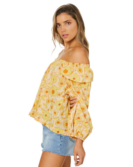 IVORY COMBO WOMENS CLOTHING FREE PEOPLE FASHION TOPS - OB1270561ICBO