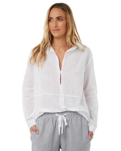 WHITE WOMENS CLOTHING ELWOOD FASHION TOPS - W81309653
