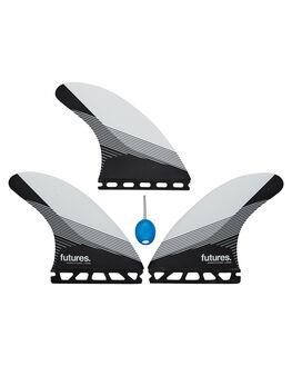 BLACK WHITE BOARDSPORTS SURF FUTURE FINS FINS - 1182-117-00BLKWH