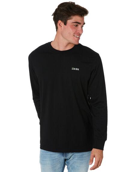 BLACK MENS CLOTHING BILLABONG TEES - 9595179BLK