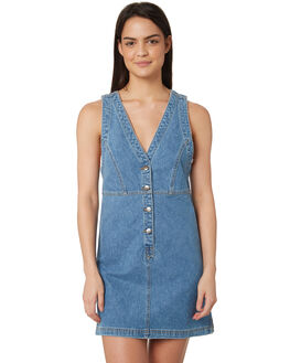 LAKES BLUE WOMENS CLOTHING WRANGLER DRESSES - W-951358-KK9