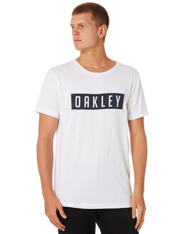 WHITE NAVY MENS CLOTHING OAKLEY TEES - 456820AU101