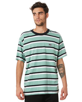 SAGE MULTI MENS CLOTHING OBEY TEES - 131080251SAG