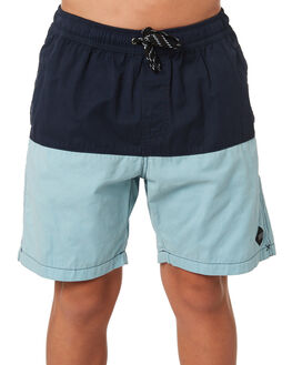 BLUE KIDS BOYS SWELL SHORTS - S3184235BLUE