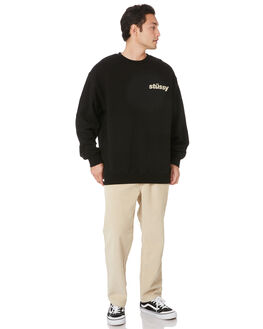 LIGHT SAND MENS CLOTHING STUSSY PANTS - ST007600LTSND
