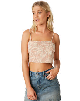 DARK SAND OUTLET WOMENS BILLABONG FASHION TOPS - 6581095DSND