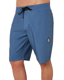 GREY BLUE MENS CLOTHING VOLCOM BOARDSHORTS - A0801900GBU