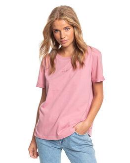 LILAC WOMENS CLOTHING ROXY TEES - ERJZT04930-PJM0