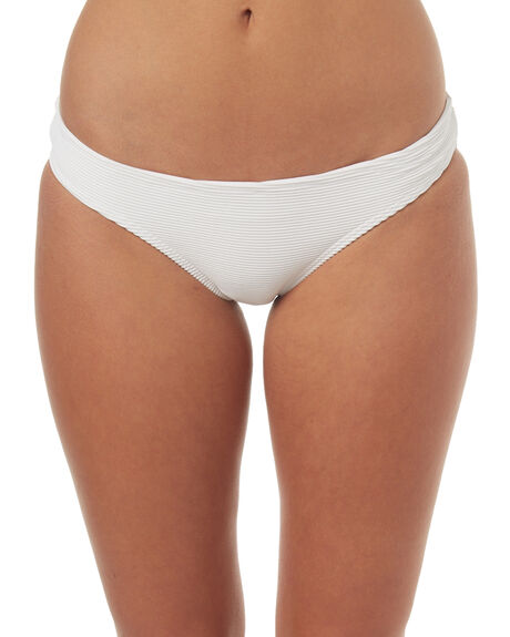 WHITE OUTLET WOMENS BILLABONG BIKINI BOTTOMS - 6571615WHT