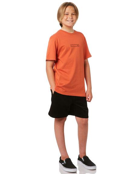BLACK KIDS BOYS RUSTY SHORTS - WKB0313BLK