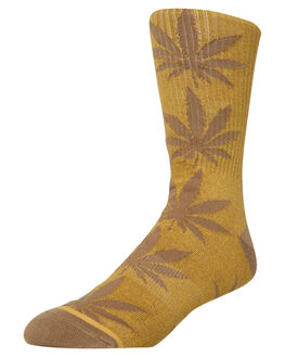 MINERAL YELLOW MENS CLOTHING HUF SOCKS + UNDERWEAR - SK00245-MINYE