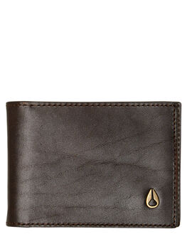 BROWN MENS ACCESSORIES NIXON WALLETS - C2977-400-00BRN