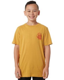 HONEY GOLD KIDS BOYS ELEMENT TOPS - 383005HNYGL
