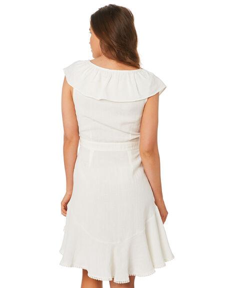 WHITE WOMENS CLOTHING TIGERLILY DRESSES - T392452WHT