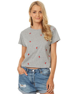 GREY MARLE WOMENS CLOTHING ALL ABOUT EVE TEES - 6403081GRM