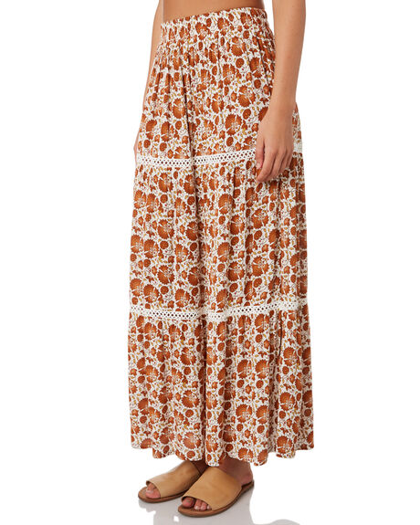 ORANGE WOMENS CLOTHING RIP CURL SKIRTS - GSKED10030