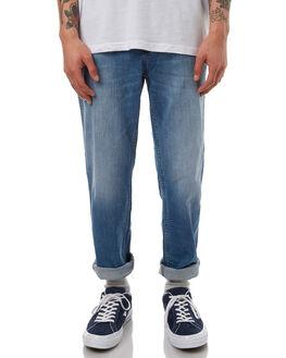 SLACKER STONE MENS CLOTHING WRANGLER JEANS - W-901078-DK1SLSTN