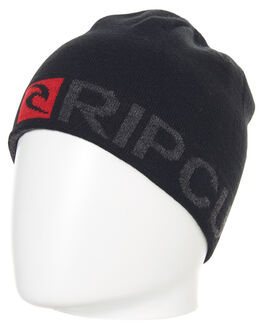 BLACK MENS ACCESSORIES RIP CURL HEADWEAR - CBNCV10090