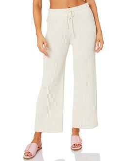 WHITE WOMENS CLOTHING RUE STIIC PANTS - SW-20-K-12WHT